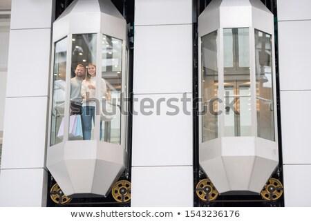 młodych · biznesmen · stałego · nowoczesne · biuro · lobby - zdjęcia stock © pressmaster