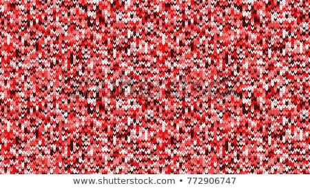 Karácsony végtelenített vektor minta repetitív tél Stock fotó © RedKoala