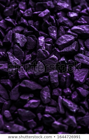 Purple stone pebbles as abstract background texture, landscape a Stock photo © Anneleven