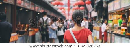 Canada reizen mensen lifestyle banner toeristische Stockfoto © Maridav