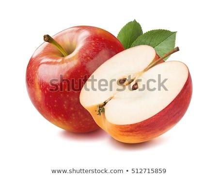 孤立した 新鮮な リンゴ フルーツ 白 水 ストックフォト © Ansonstock