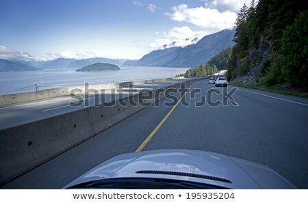 Канада · шоссе · знак · высокий · разрешение · графических · зеленый - Сток-фото © kbuntu