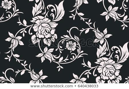 Foto stock: Preto · rosa · flor · textura · moda