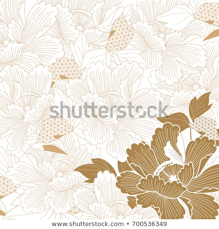 Beautiful oriental pattern Stock photo © Losswen
