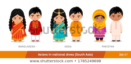 Ethnic man wearing traditional clothing Stock photo © lovleah