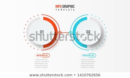 Communiceren kleur 3D dozen tekst woord Stockfoto © marinini