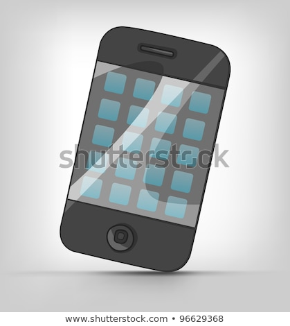 Cartoons Home Appliences Phone Stock photo © RAStudio