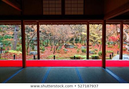 buddhist temple window Stock photo © smithore