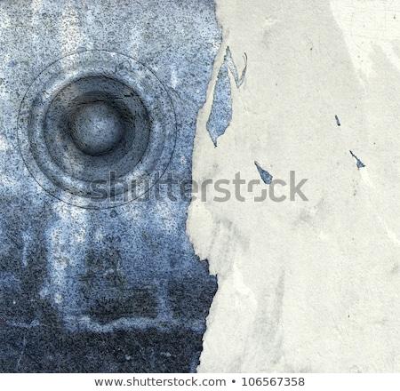 3d grunge old poster speaker sound system deejay DJ Stock photo © Melvin07