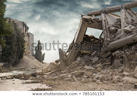 Building Rubble Stock photo © brm1949