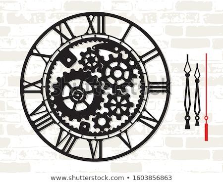 Metallic Clock Stock photo © chrisbradshaw