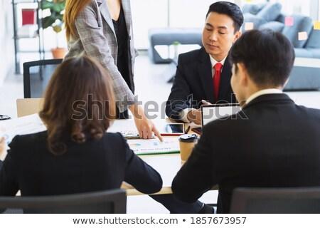 comptables · supérieurs · femme · réussi · comptable - photo stock © lisafx