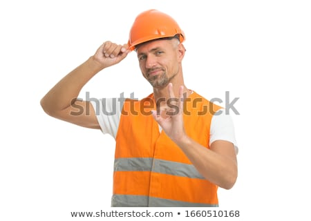 Foto stock: Electrician Ready For Work