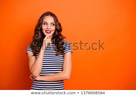 美人 · オレンジ · 手 · オレンジ果実 · 食品 - ストックフォト © annakazimir