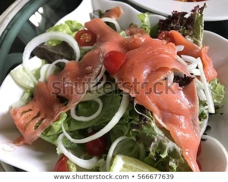 lezzetli · füme · tavuk · bütün · organik · hazır - stok fotoğraf © fanfo