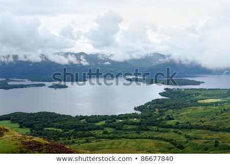 Loch Lomond waterside Stock photo © prill