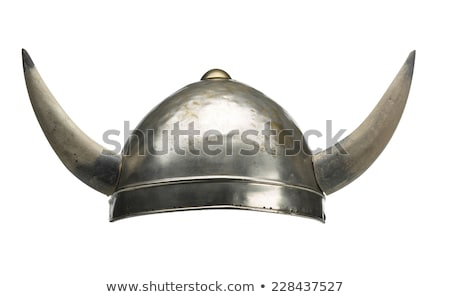 viking hat, helmet, isolated on white Stock photo © shutswis