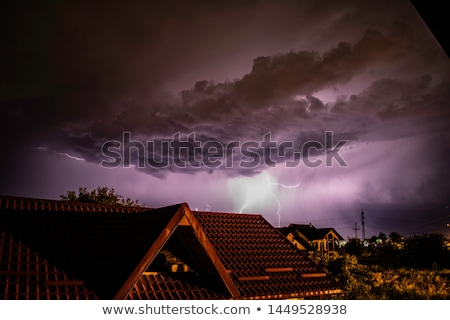 summer storm stock photo © ondrej83