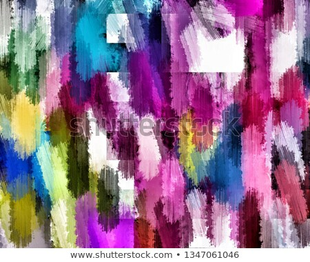 Art brush with rainbow with white blank area Stock photo © Lightsource