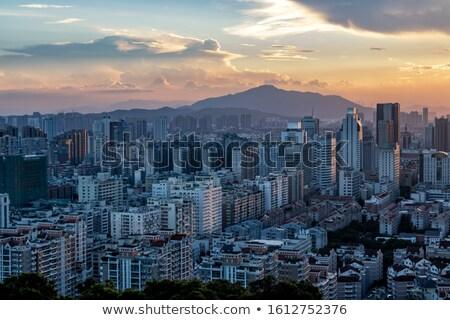 Downtown Buildings Cluster Stock photo © eldadcarin