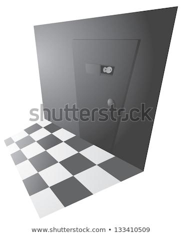 Top secret back door entrance Stock photo © curvabezier