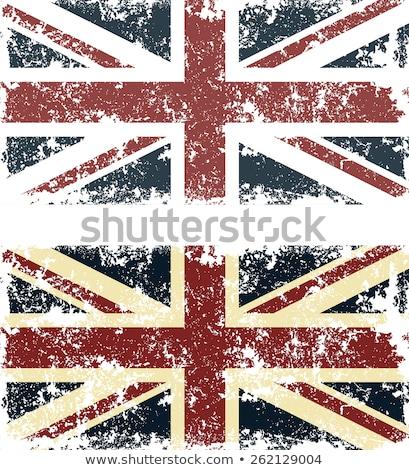 Engeland · grunge · vlag · textuur · retro · digitale - stockfoto © tintin75