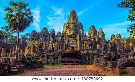 寺 カンボジア 古代 石 礼拝 アーキテクチャ ストックフォト © tommyandone