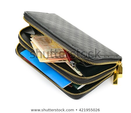 close up of open purse stock photo © photography33