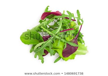 レタス · 作品 · 新鮮な · 食品 · 中心 · 油 - ストックフォト © aladin66