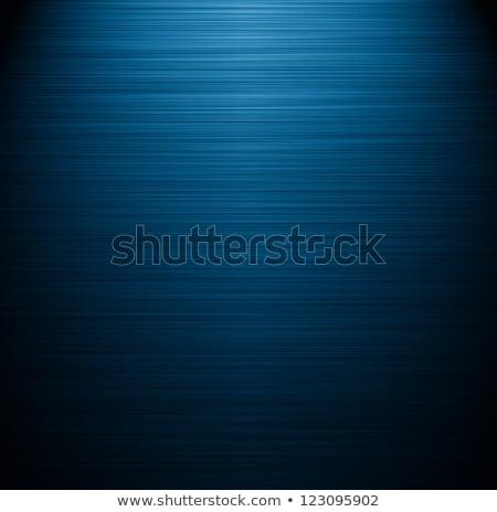 Shiny Blue Brushed Aluminum Stock photo © ArenaCreative