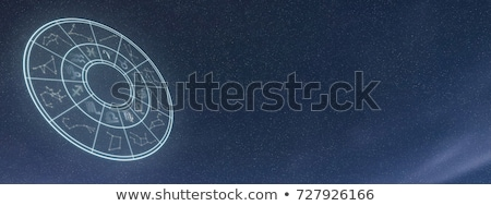 Astrology sign in sky Stock photo © zzve