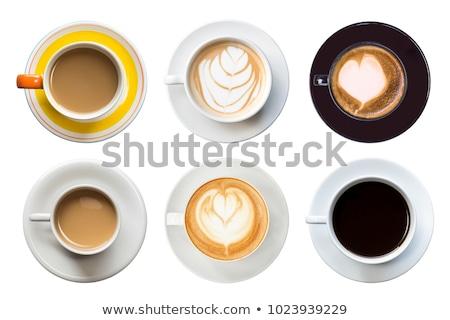 Isolado bebida quente beber estrela vermelho chá Foto stock © M-studio