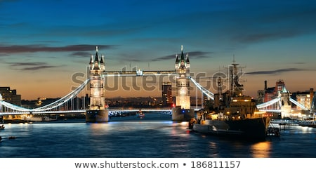 HMS Belfast on River Thames Stock photo © backyardproductions