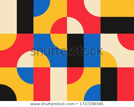 seamless multicolored geometric pattern stock photo © creative_stock