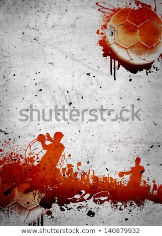 Grunge Handball Stock photo © burakowski