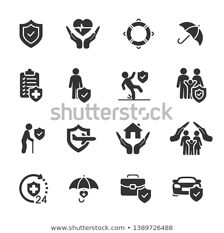 home insurance icons stock photo © cteconsulting