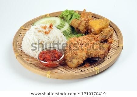 popularny · indonezyjski · miejscowy · żywności - zdjęcia stock © szefei