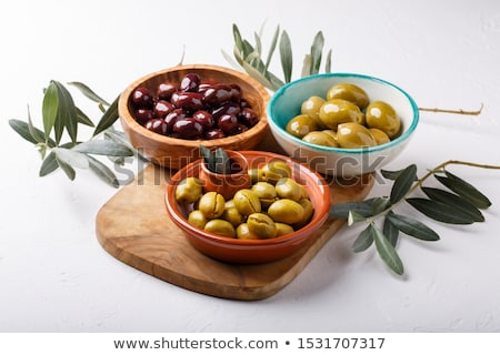 assortment of olives Stock photo © M-studio