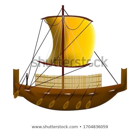 Roman Warships Stock photo © MIRO3D