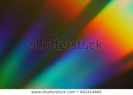 Compatto disco Rainbow riflessioni isolato bianco Foto d'archivio © boroda