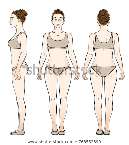 woman in underclothes Stock photo © 26kot