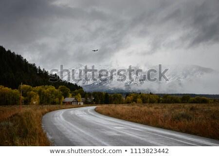 Storm over Grand Tetons National Park Stock photo © emattil