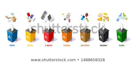 the wastebasket Stock photo © flipfine