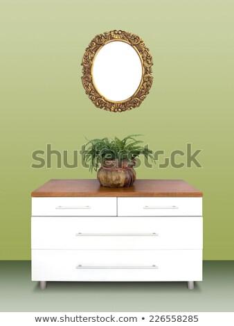 現代 胸 金箔 フレーム 壁 ストックフォト © smuki