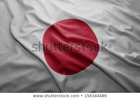 Гранж · флаг · Япония · старые · Vintage · гранж · текстур - Сток-фото © tony4urban