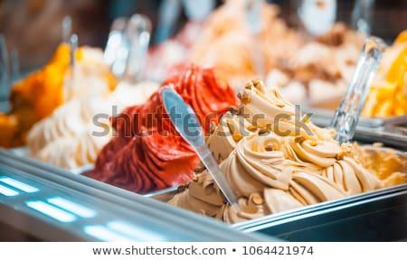 colorful gelato display stock photo © lorenzodelacosta