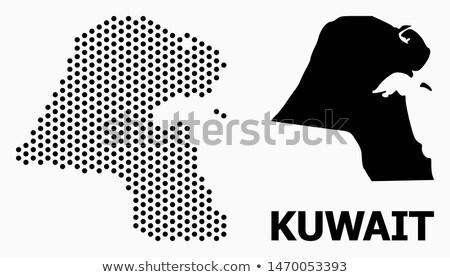 карта Кувейт точка шаблон вектора изображение Сток-фото © Istanbul2009