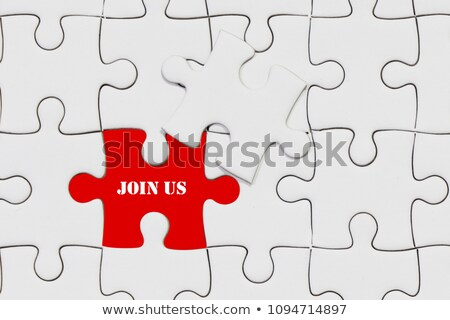 Join Us Puzzle Concept Stock photo © ivelin