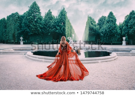 woman in peignoir Stock photo © ssuaphoto
