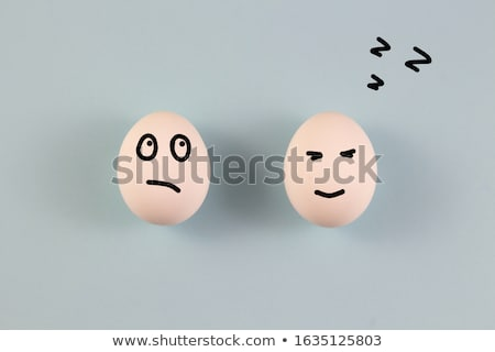Eggs sleep Stock photo © eddows_arunothai